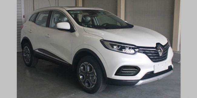 Обновлённый Renault Kadjar рассекретили до премьеры