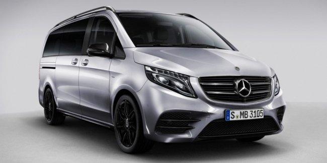 Mercedes-Benz V-Class получил «ночную» версию