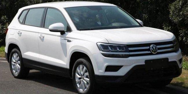 В сети рассекречен новый «паркетник» Volkswagen Tharu