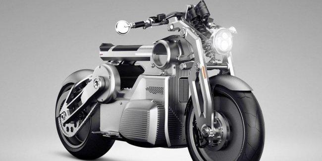 Мотоциклы Curtiss Zeus - творение бывших Конфедератов