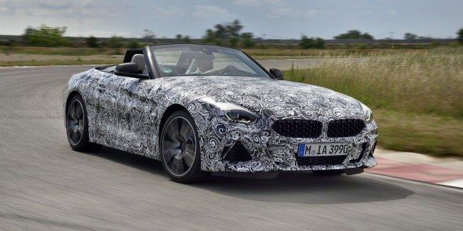 Первые официальные изображения нового BMW Z4