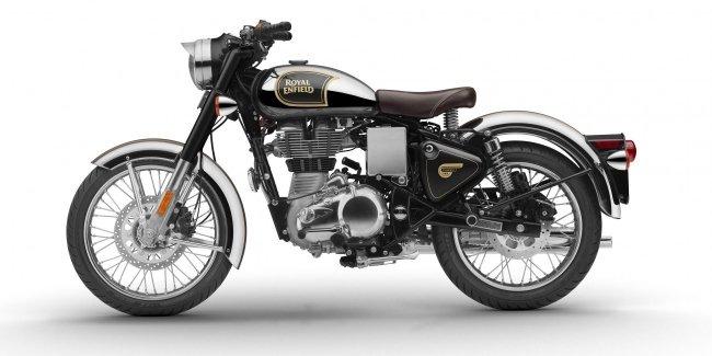 Мотоцикл Royal Enfield Classic получил ABS в стандарте