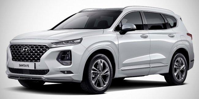 Hyundai сделала роскошную версию нового Santa Fe