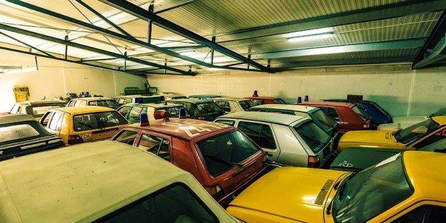 Австрийский трубочист откроет музей из 114 Volkswagen Golf