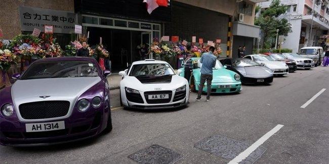 В Гонконге продали самое дорогое в мире парковочное место