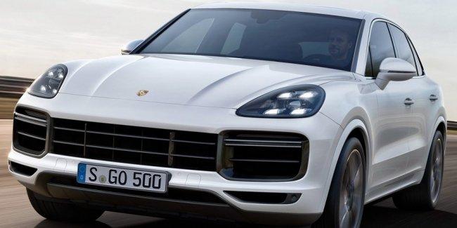Porsche запустит в производство Cayenne-купе