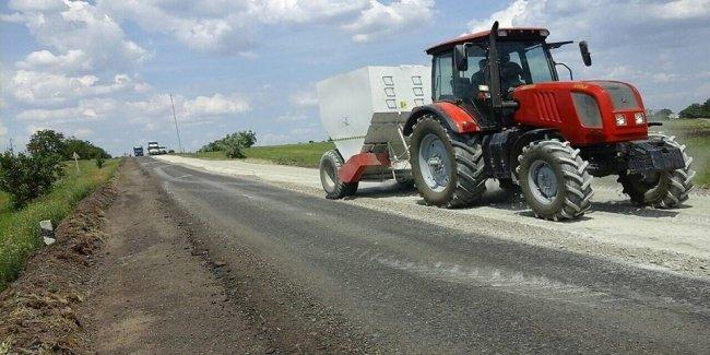 Начали ремонтировать трассу Николаев-Кропивницкий