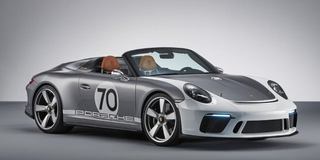 Porsche выпустила 500-сильный юбилейный спидстер