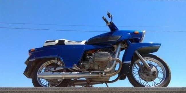 Появилось видео самого первого киевского мотоцикла с именем Днепр