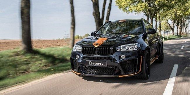 Тюнеры выпустили 750-сильный BMW X6