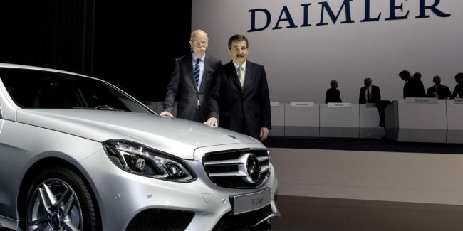Daimler отзывает в Германии почти 800 тыс. автомобилей
