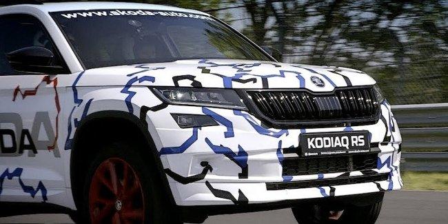 Королева Нюрбургринга вывела на гоночный трек «горячий» Skoda Kodiaq