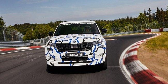 Skoda Kodiaq RS установил рекорд Нюрбургринга