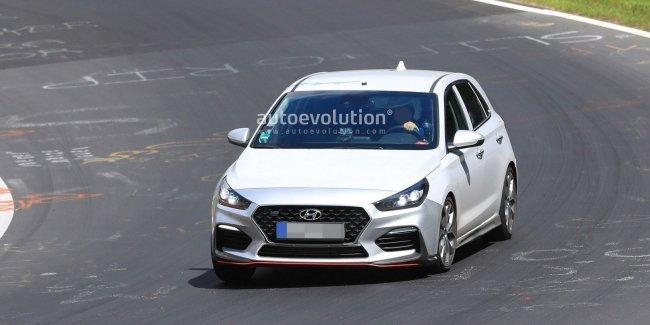 Новый Hyundai i30 N-Line рассекретили на «Северной петле»