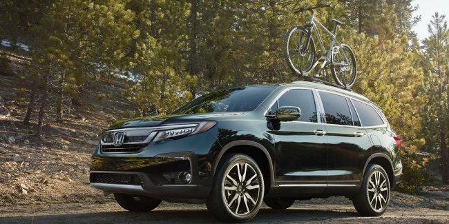 Honda обновила вседорожники Pilot и HR-V