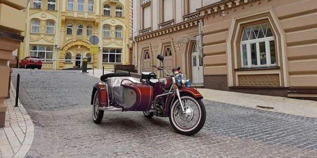 Финальная серия украинских мотоциклов Днепр была экспортирована в Германию