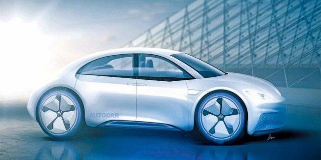 Новый Volkswagen Beetle превратят в четырехдверный электрокар
