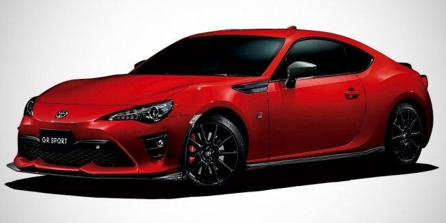 Toyota подготовила для купе GT86 «скромный» тюнинг