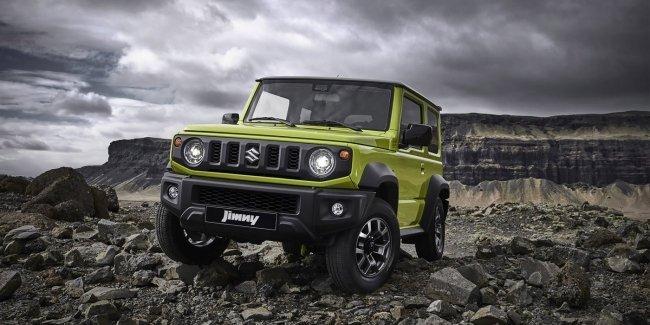 Suzuki рассказала о новом Jimny