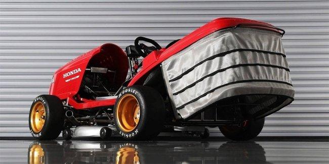 Honda разработала сверхбыструю газонокосилку