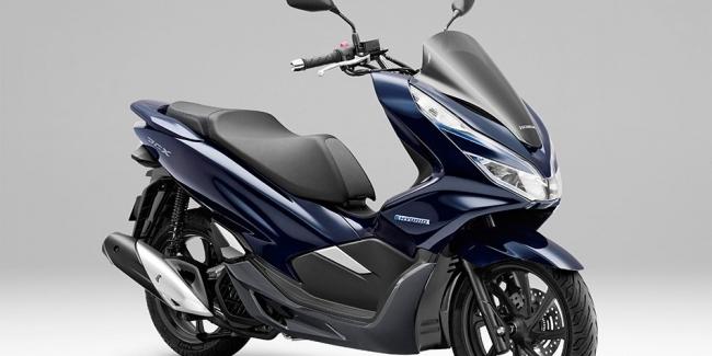 Гибридный скутер Honda PCX Hybrid - скоро в продаже