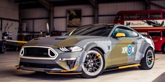 Ford привезет в Гудвуд Mustang в стиле истребителей Второй мировой