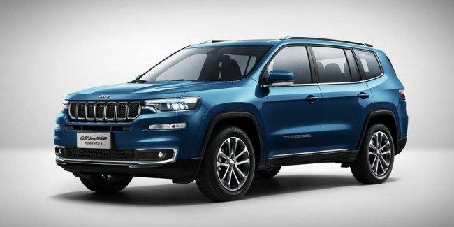Пятиместный Jeep Commander в плане техники повторил трёхрядный SUV с приставкой Grand