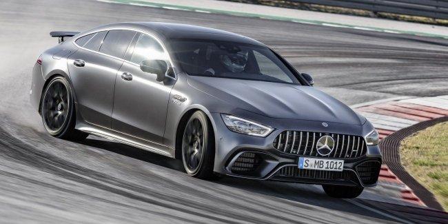 Mercedes назвал цены на новый AMG GT 4