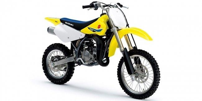 Мотоцикл Suzuki RM-Z250 обрел обновленный двигатель
