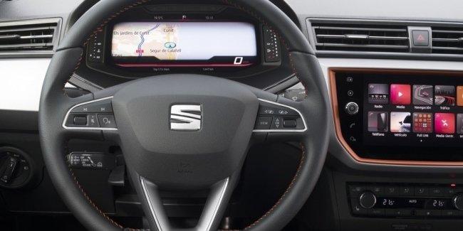 Двум моделям Seat добавили «цифровой кокпит»