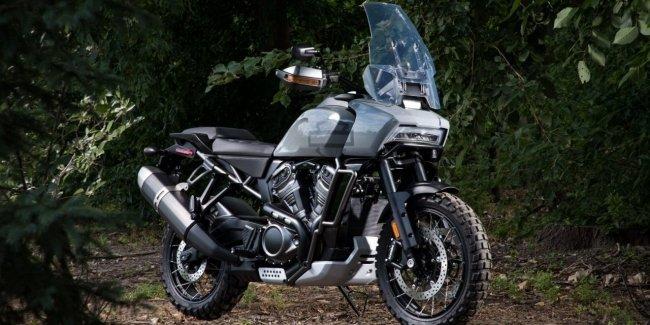 Мотоцикл Harley-Davidson Pan America поразит взгляды пользователей