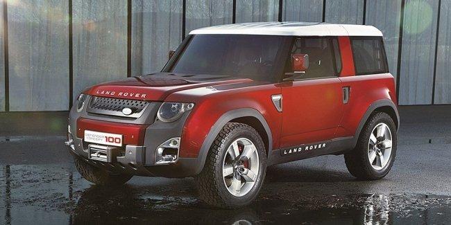 Новый Land Rover Defender представят в 2020 году