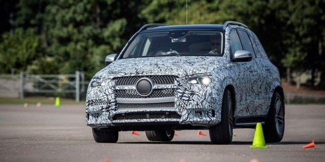 Новый Mercedes-Benz GLE получит подвеску от S-Class