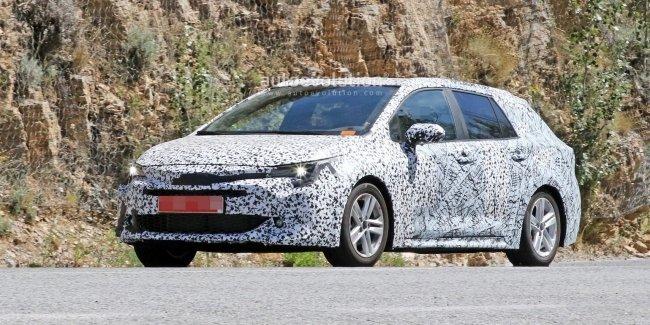 Новый универсал Toyota тестируют в Европе