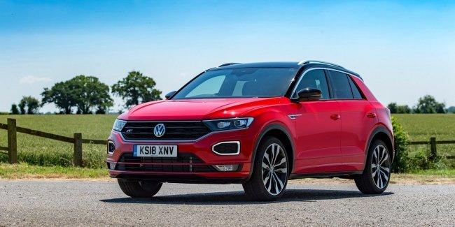 Volkswagen объявляет цены на дизельный T-Roc в Британии