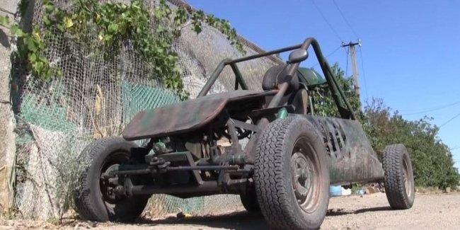 Морпехи под Мариуполем создали неординарный автомобиль