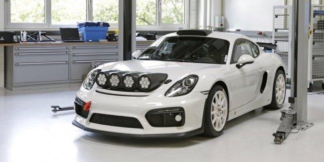 Быстрейший Porsche Cayman подготовили для ралли