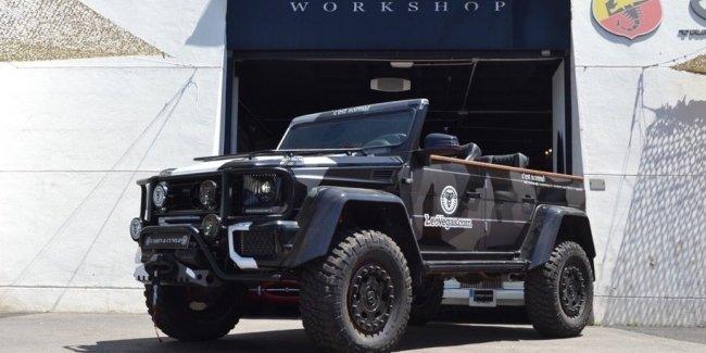 800-сильный «Гелик»-кабриолет продадут за 700 тысяч евро