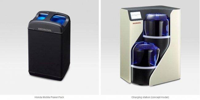 Honda и Panasonic поэксперементируют с мобильной подзарядкой электромотоциклов