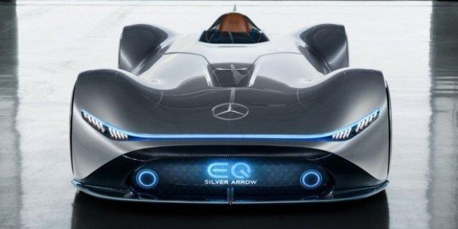 Mercedes-Benz построил 740-сильную «Серебрянную стрелу»
