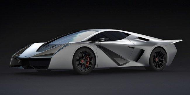 Бывший дизайнер Мазды придумал суперкар Salaff C2