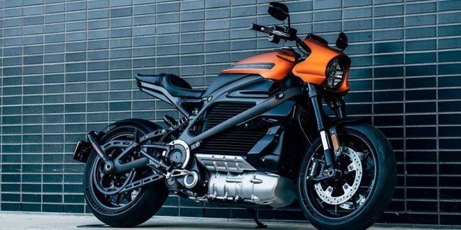 Боевой образец электрического мотоцикла Harley-Davidson LiveWire показали в США