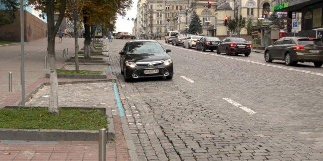 На центральных дорогах Киева увеличивается количество парковочных карманов - КГГА