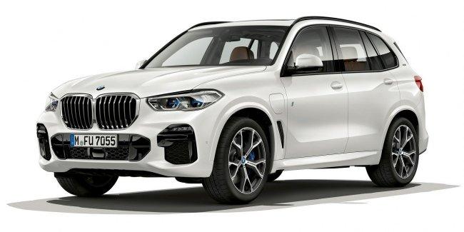 Новый BMW X5 стал подключаемым гибридом
