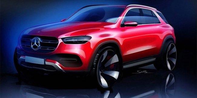 Mercedes-Benz показал внешность нового GLE