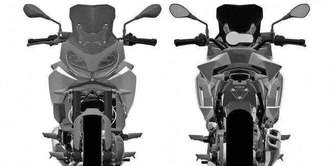 В интернете появились патентные изображения нового BMW F850RS