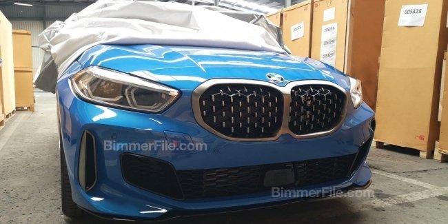 В Сети появились фотографии BMW 1 серии без камуфляжа