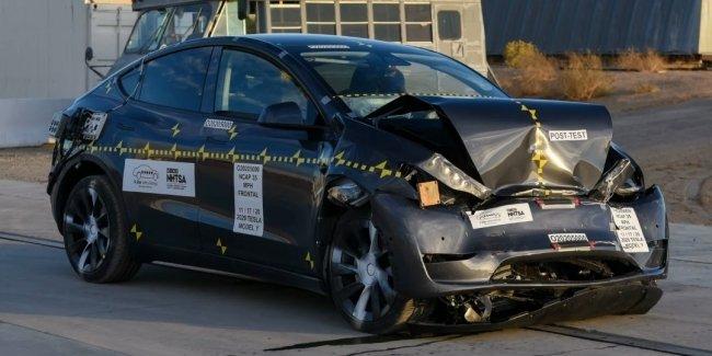 Tesla, что с безопасностью? Краш-тест Model Y