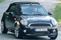 Шпионы сфотографировали Mini кабриолет