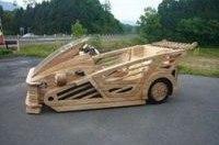 Деревянный автомобиль стоит $32 500